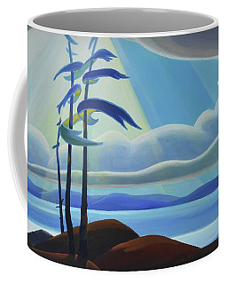 Ode To The North II - Center Panel Coffee Mug