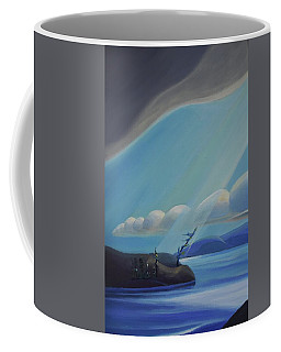 Ode To The North II - Left Panel Coffee Mug