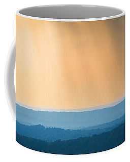 Coffee Mug featuring the photograph Of Blue And Gold by Parker Cunningham