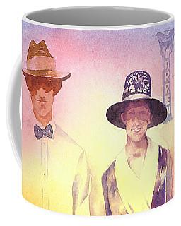 Of Lace And Light, Charlie And Anna, Circa 1915  Coffee Mug