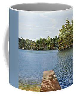 Off The Dock Coffee Mug
