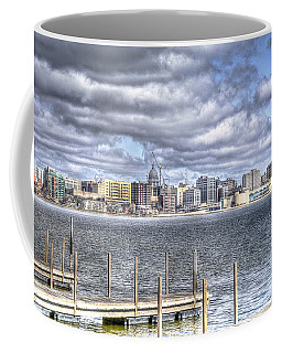 Off The Pier Coffee Mug