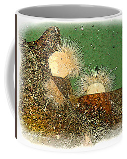 Coffee Mug featuring the mixed media Off The Wharf by Art MacKay