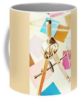 Office Plan Draft Coffee Mug