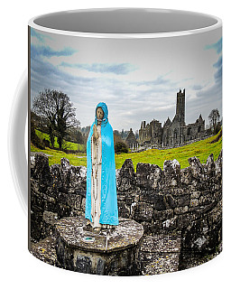Official Greeter At Ireland's Quin Abbey National Monument Coffee Mug