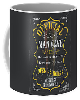 Official Man Cave Coffee Mug