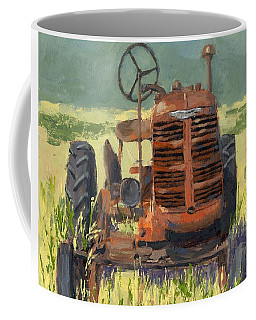 Offset High Crop Coffee Mug