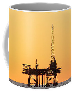 Offshore Oil And Gas Platform  Coffee Mug