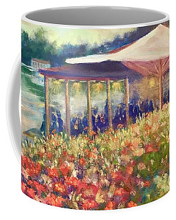 Ogunquit Gardens At Waterside Restaurant Coffee Mug