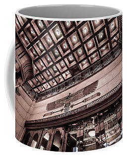 Ogden's Historic Peery's Egyptian Theater At Night  Coffee Mug by Gary Whitton