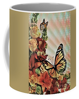 Oh Beautiful Butterfly Coffee Mug by Maria Urso
