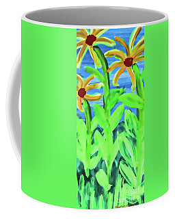 Oh Glorious Day Floral Coffee Mug