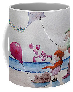 Oh My Bubbles Coffee Mug by Geni Gorani