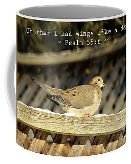 Oh That I Had Wings Like A Dove Coffee Mug