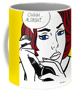 Ohhh...alright Coffee Mug by Roy Lichtenstein