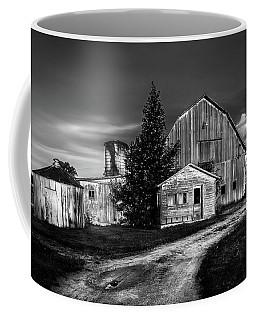 Ohio Barn At Sunrise Coffee Mug