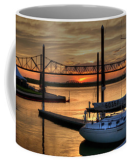 Ohio River Sailing Coffee Mug
