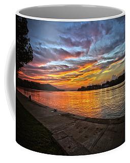 Ohio River Sunset Coffee Mug