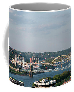 Ohio River's Suspension Bridge Coffee Mug
