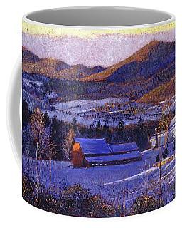 Ohio Winter Blue Coffee Mug