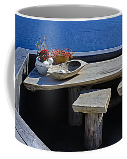 Oia Still Life On The Greek Island Of Thira Coffee Mug