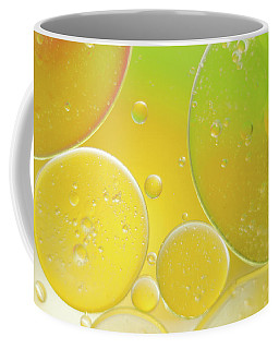 Oil And Water Bubbles  Coffee Mug
