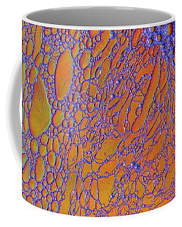 Oil And Water Grape Design Coffee Mug by Bruce Pritchett