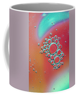 Coffee Mug featuring the digital art Oil And Water by Kevin Blackburn