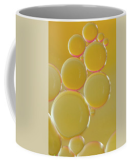 Oil Bubbles On Water Abstract Coffee Mug