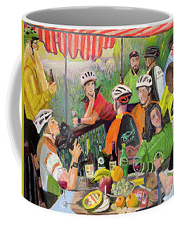 Oil- Luncheon Of The Cycling Party Coffee Mug
