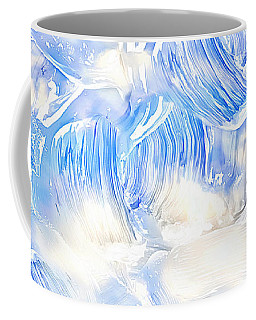 Oil Painting Abstract Background Coffee Mug