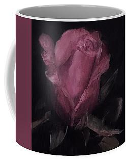 Oil Rose Painting Coffee Mug