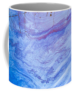 Oil Spill On Water Abstract Coffee Mug