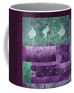 Coffee Mug featuring the digital art Oiselot 01 - J097179222-bl02a by Variance Collections