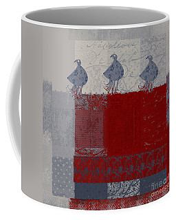 Coffee Mug featuring the digital art Oiselot - J106161103_02bb by Variance Collections