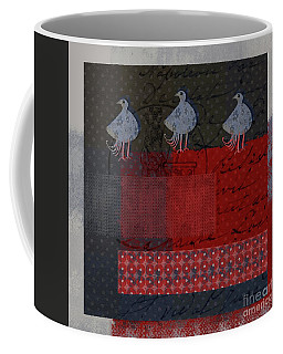 Coffee Mug featuring the digital art Oiselot - S23 by Variance Collections