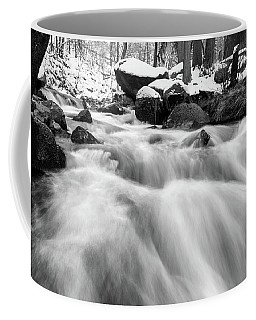 Oker, Harz In Black And White Coffee Mug by Andreas Levi