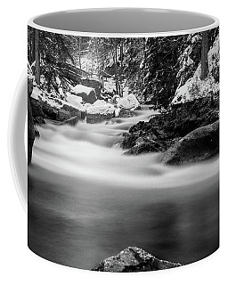 Oker, Harz - Monochrome Version Coffee Mug by Andreas Levi