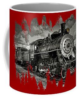 Old 104 Steam Engine Locomotive Coffee Mug