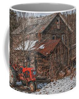 Old Abandoned Farm Homestead Coffee Mug