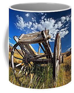 Old Abandoned Wagon, Bodie Ghost Town, California Coffee Mug
