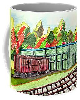 Old Age Box Car Coffee Mug
