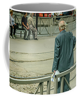 Old, Alone, With Dignity Coffee Mug