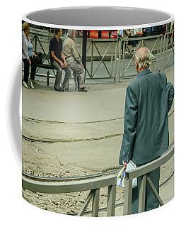 Old, Alone, With Dignity Coffee Mug by KG Thienemann
