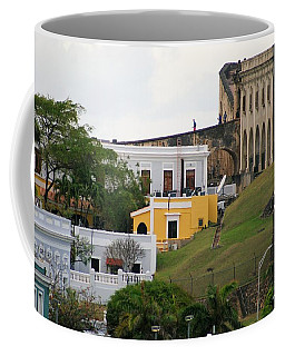 Coffee Mug featuring the photograph Old And New by Lois Lepisto