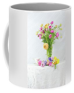 Old And New Ranunculus Coffee Mug