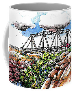 Old Arizona Bridge Coffee Mug by Terry Banderas