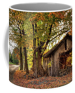 Old Autumn Shed Coffee Mug