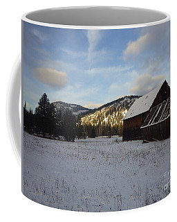 Coffee Mug featuring the photograph Old Barn 2 by Victor K