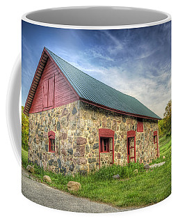 Old Barn At Dusk Coffee Mug